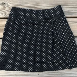 Dresses & Skirts - Women Black Skirt W/ White Polka dots for size des